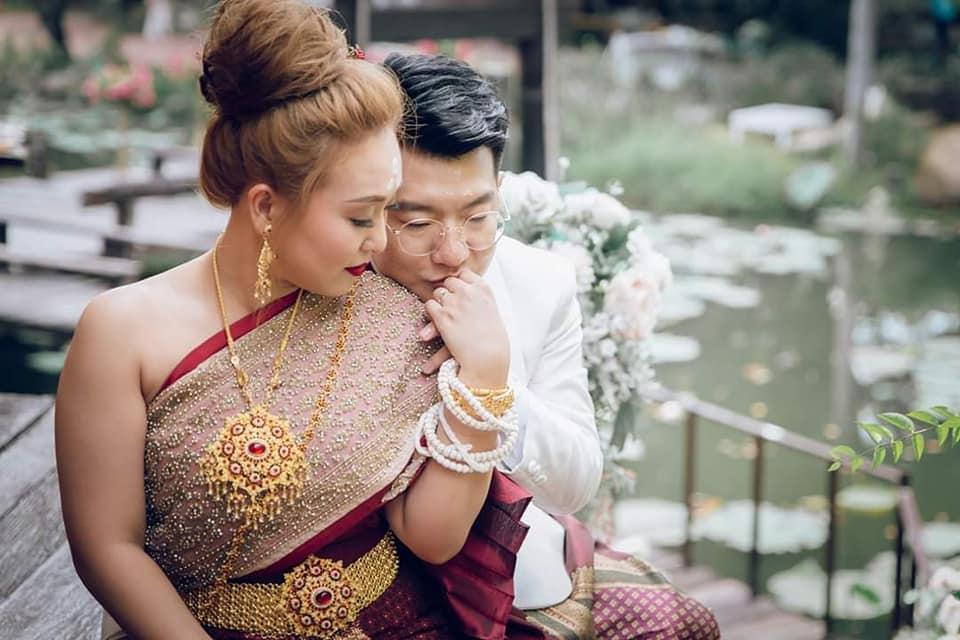 ชุดไทยแต่งงาน