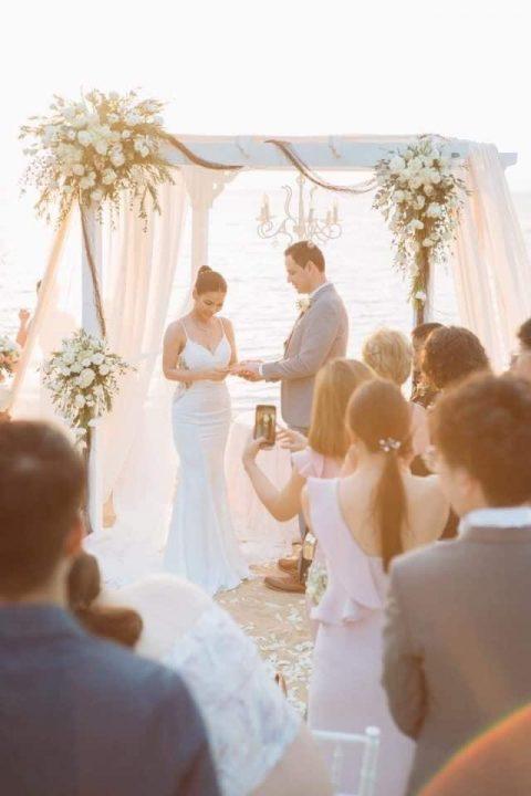 ธีมงานแต่งงาน ริมทะเล