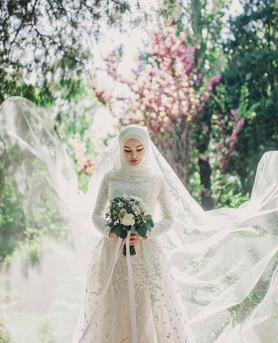 ชุดแต่งงานมุสลิม สไตล์มินิมอล