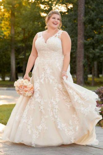 ชุดแต่งงานเจ้าสาว plus size